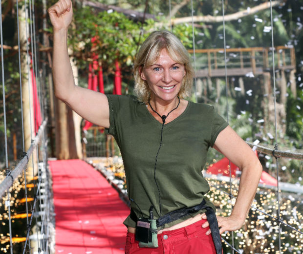 MP Nadine Dorries was the first contestant to leave the I'm A Celebrity jungle