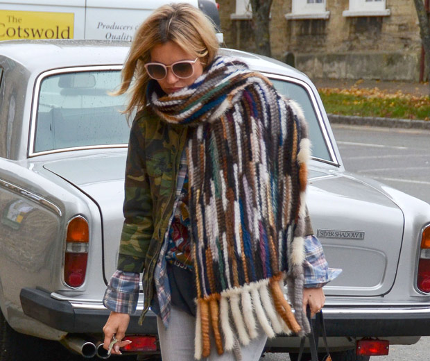 Kate Moss Working Her Fab Casual Style Whilst Out In The UK, 2012