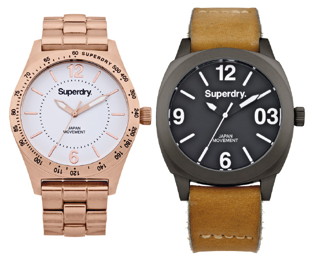 Superdry launch new watch collection