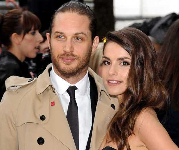 Tom Hardy and Charlotte Riley make one gorgeous couple!