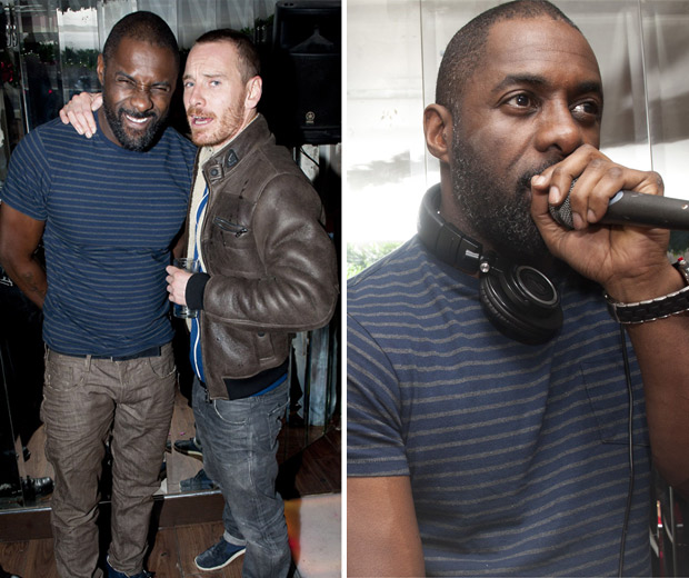 Michael Fassbender and Idris Elba partied in Dublin this weekend!