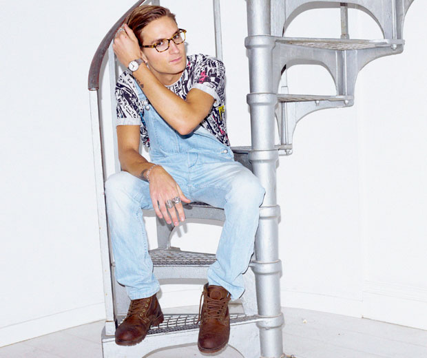 Oliver Proudlock talks about his love of fashion and series five of MIC