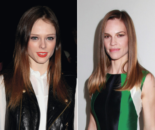 These ladies know how to rock super-straight locks!