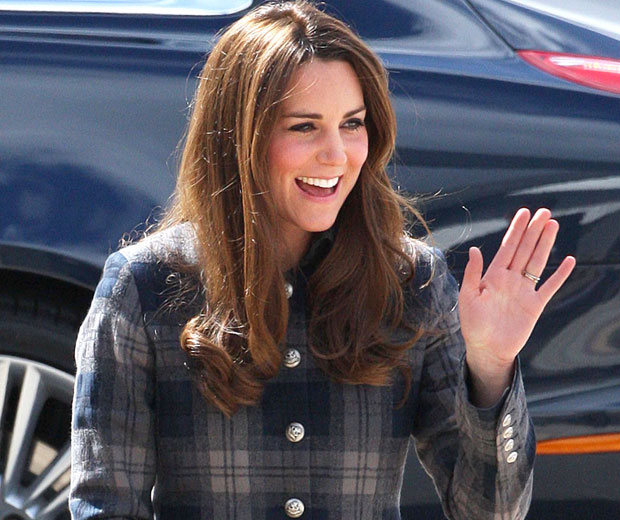 A new book offering pregnancy advice to Kate Middleton will be released in June