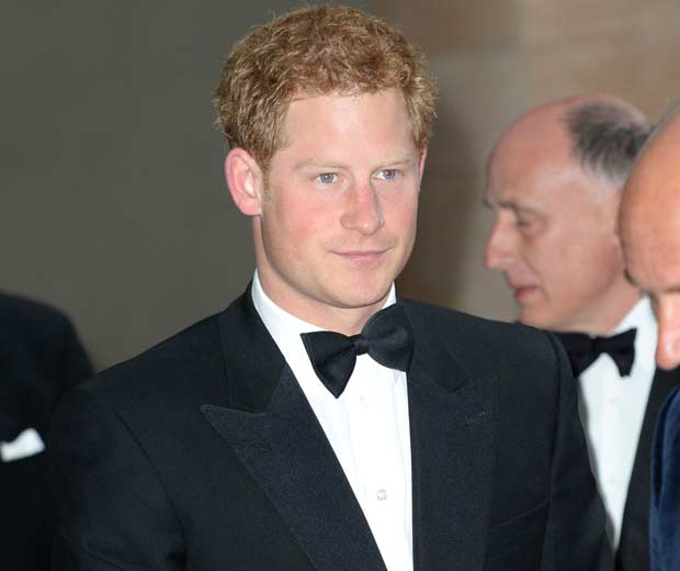 Prince Harry attended the charity gala to help raise money for his trek to the North Pole later this year