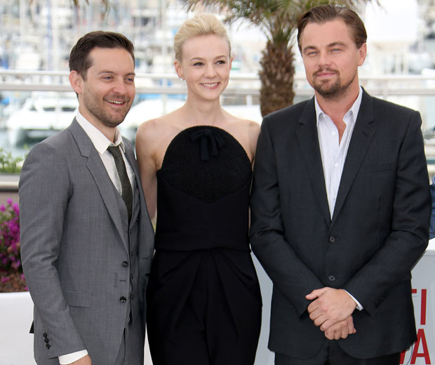 The Great Gatsby cast have arrived at the Cannes Film Festival for their first photocall