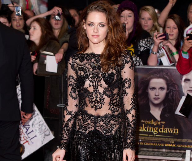 Kristen Stewart is voted best-dressed