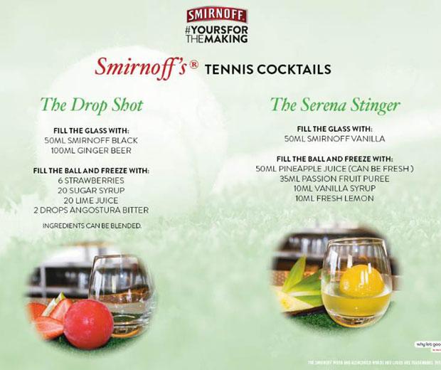 Make yourself a Wimbledon cocktail