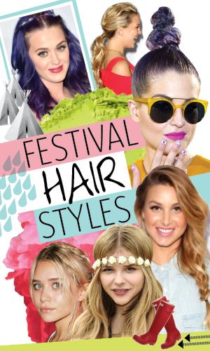 Festival hair ideas for everyone, 2013