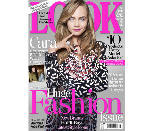 Cara Delevingne's secret relationship with Harry Styles in this week's LOOK!