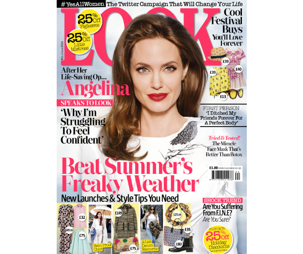 Angelina Speaks To LOOK: In This Week's Issue