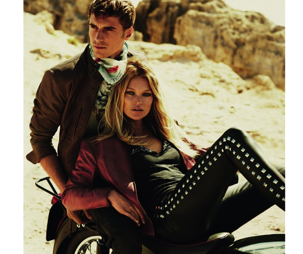 Kate Moss for Matchless SS15