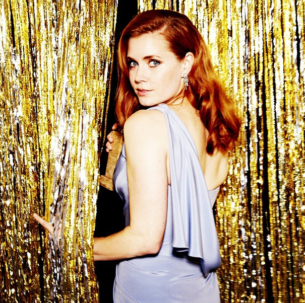 Amy Adams at The Golden Globes 2015