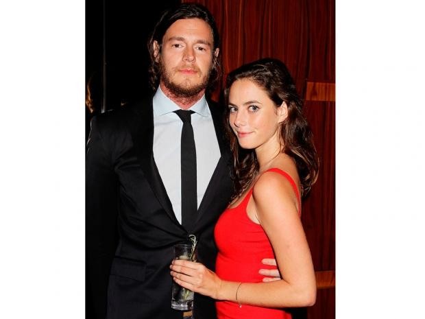 Kaya scodelario and fiance benjamin walker