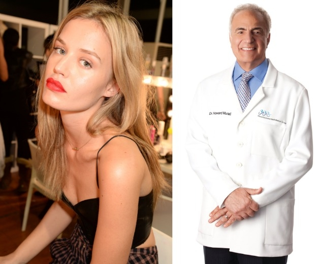 Georgia May Jagger's flawless skin is thanks to a little help from Dr Murad
