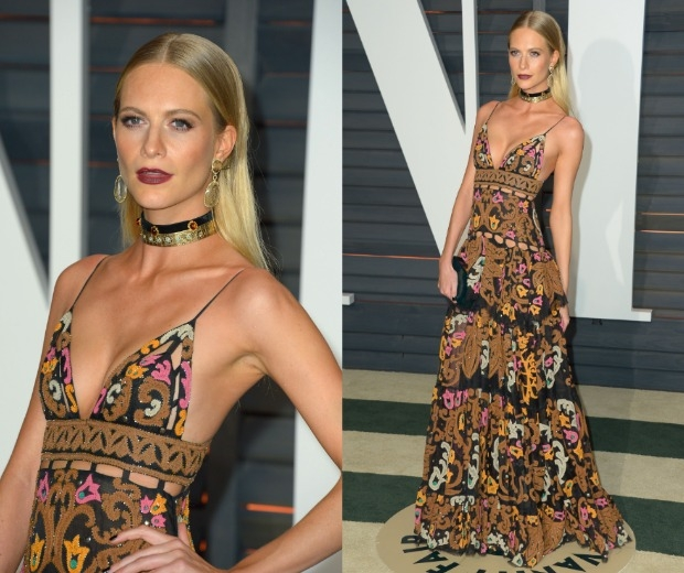 Poppy delevinge looks chic as can be at the Oscars