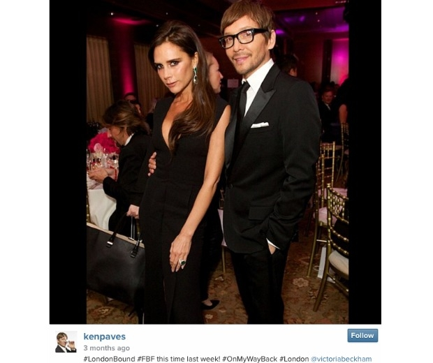 Ken Paves is known for being BFF to the likes of Victoria Beckham