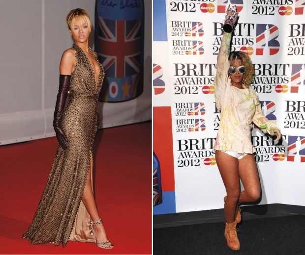 Rihanna at the BRITS 2012