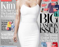Kim Kardashian On The Cover Of LOOK Magazine, 2014