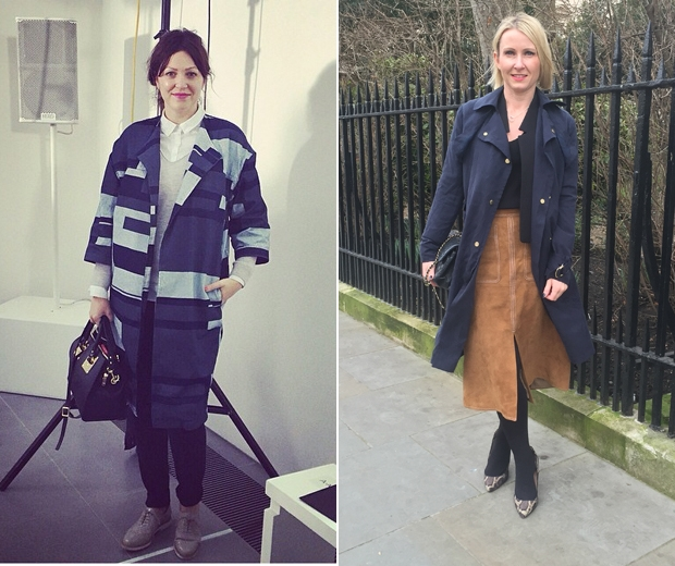 Look's Fashion Editor Chloe and Editor Ali Hall