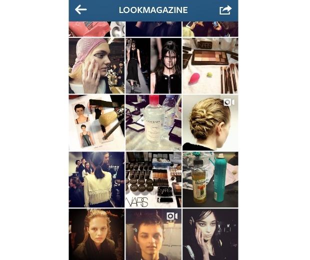 LOOK's Instagram