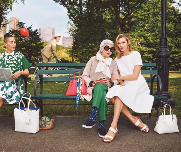 Karlie Kloss and Iris Apfel