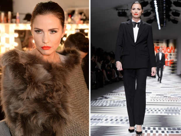 katie price at the fashion for relief show