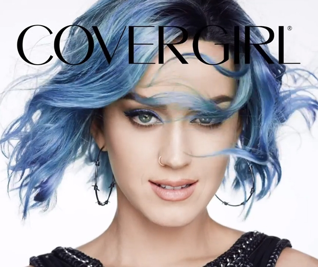 Katy Goes Four Shades Of Perry For Her Cover Girl Ad Look
