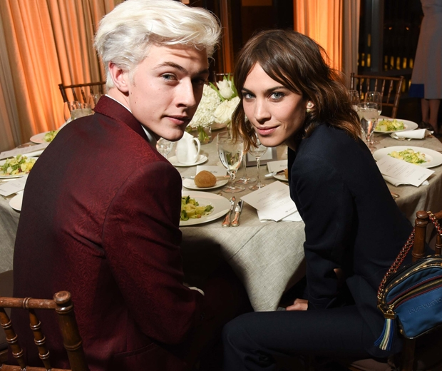 Lucky Blue and Alexa Chung