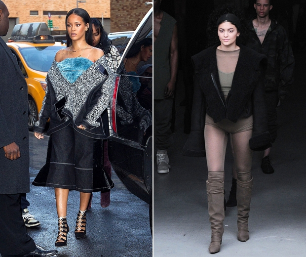 Rihanna and Kylie Jenner