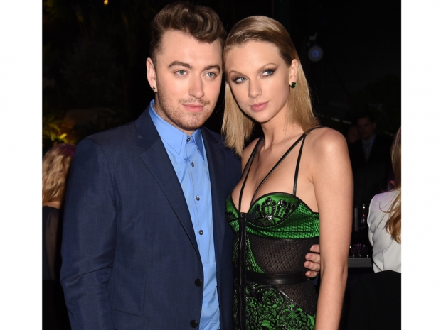 taylor swift and sam smith at world's first fund fair