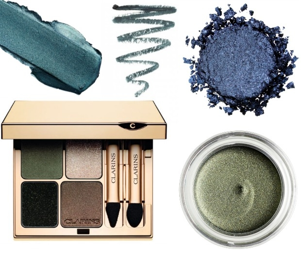 Get awesome eyes with a hit of navy or emerald green