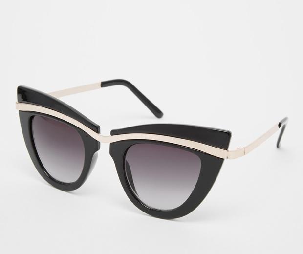Asos Metal Top Cat Eye Sunglasses £12