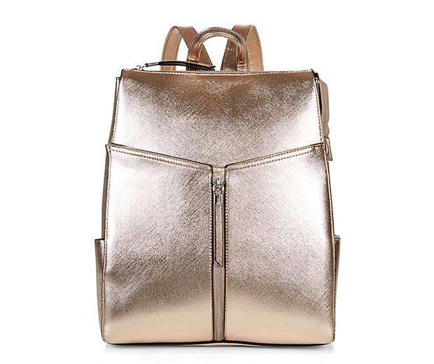New Look Metallic Backpack £19.99