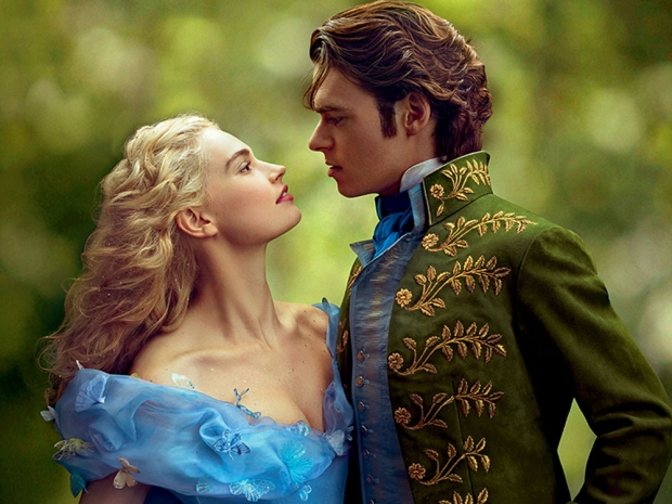 Lily James Richard Madden Prince Charming