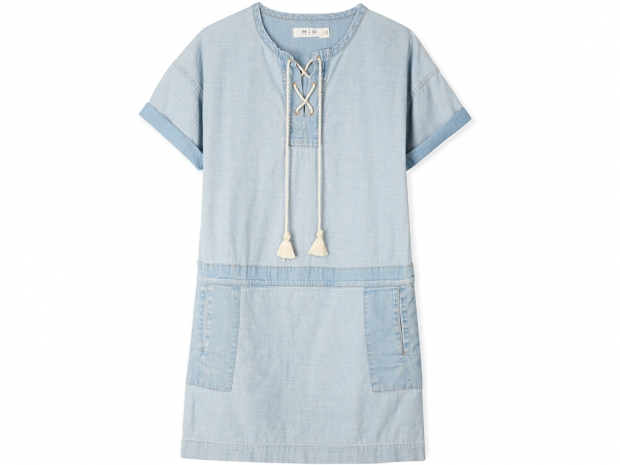 MIH's Poncho Denim Dress
