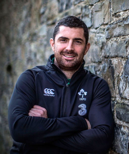 Rob Kearney on a summer's day - who doesn't like the sound of that?