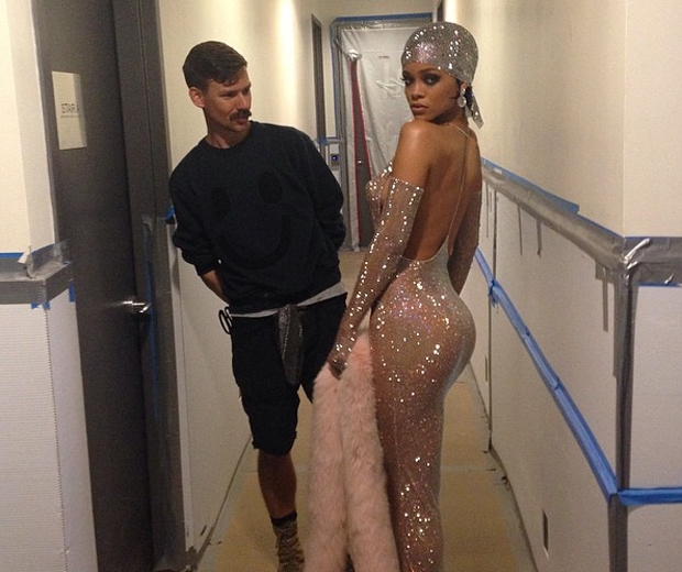 Rihanna is a big fan of designer Adam Selman
