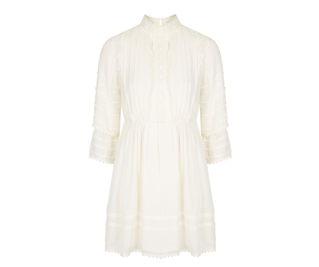 Topshop High Neck Victoriana Dress £46