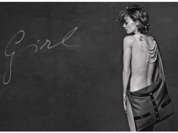 Vanessa Paradis also stars in the new Chanel 11:12 bag campaign