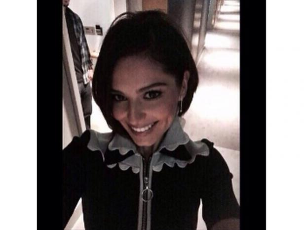 Cheryl Fernandez-Versini shares a selfie