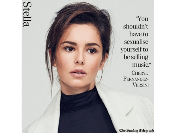 Cheryl Fernandez-Versini looks gorgeously fresh-faced in the latest Stella magaz