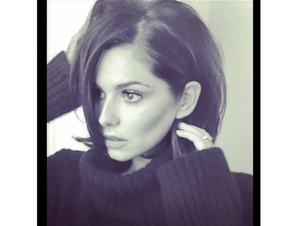 Cheryl Fernandez-Versini with new short hair on instagram