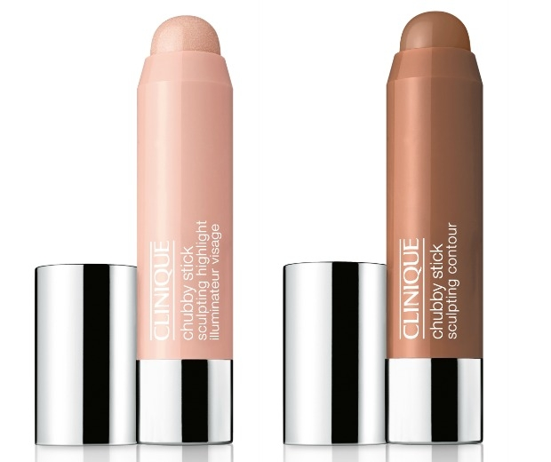 Clinique Chubby sticks will contour and highlight cheeks