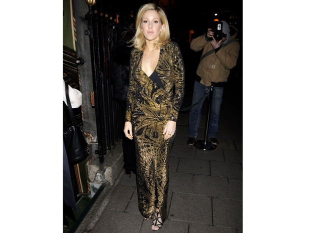 Ellie Goulding looked amazing at the Balmain store launch party
