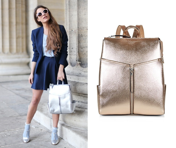 Bag Blogger Audrey Rodgers must have backpack at New Look
