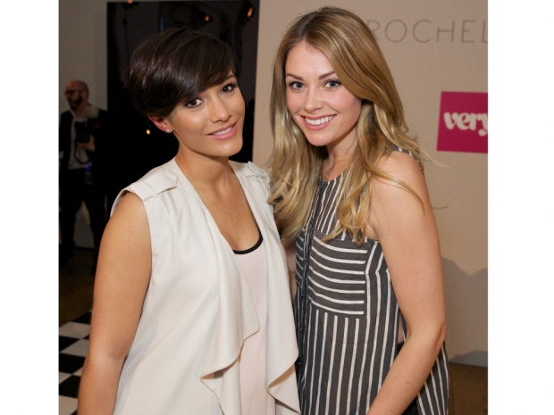 frankie bridge at Rochelle Humes' Very SS15 catwalk show