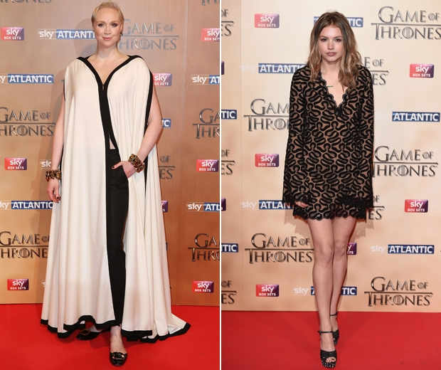 Gwendoline Christie and Hannah Murray