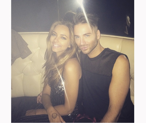 Little Mix's Jade Thirlwall with her BFF stylist Aaron