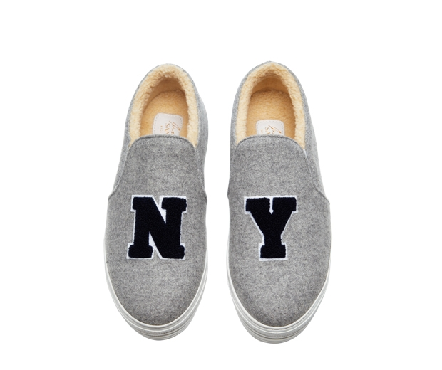 Shearling New York Trainers, £230